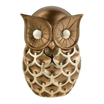 Mystic Owl Polyresin Decorative Item