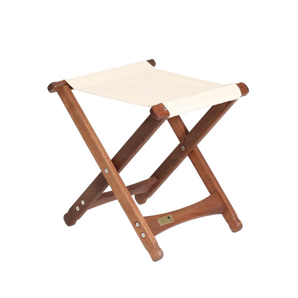Superb Byer Of Maine Keruing Wood Natural Folding Stool Evergreenethics Interior Chair Design Evergreenethicsorg