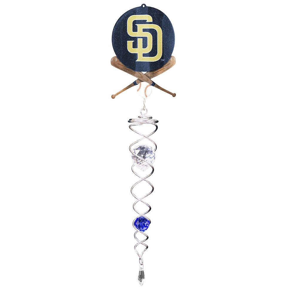Iron Stop San Diego Padres Crystal Wind Twister