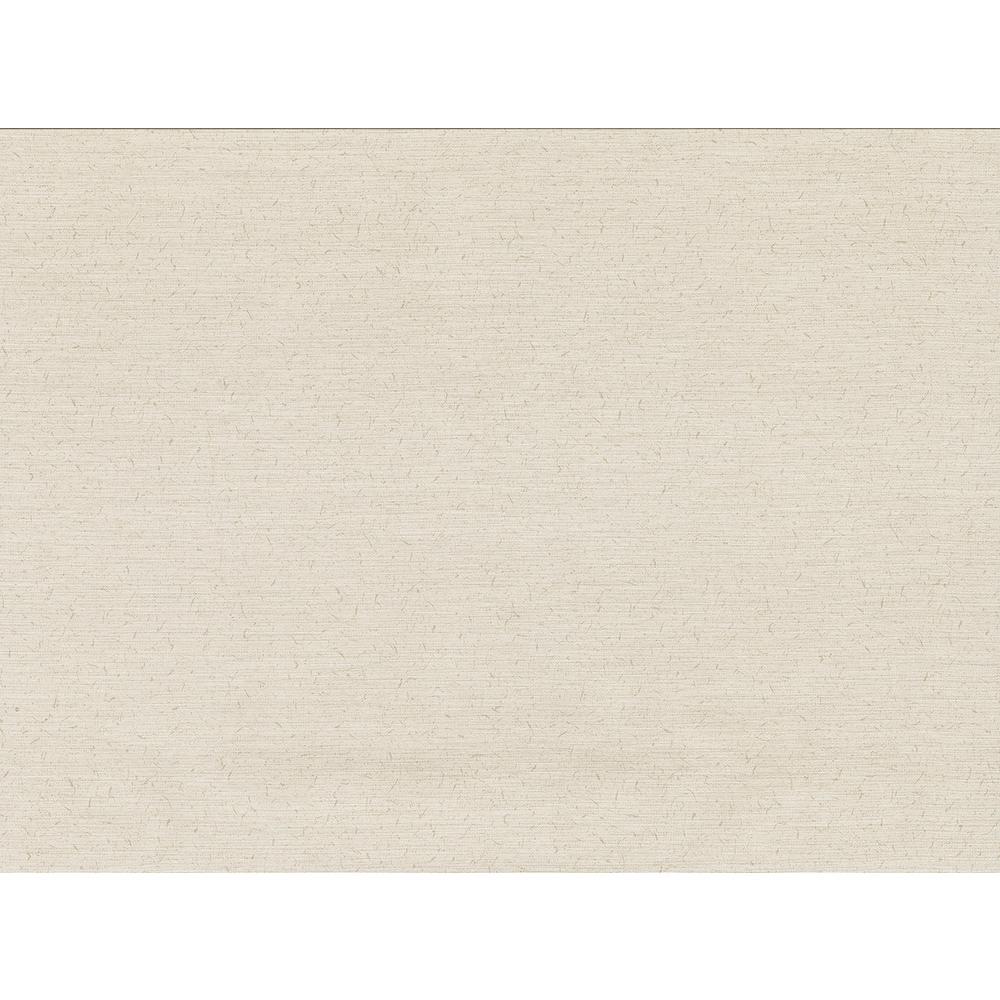 8 in. x 10 in. Bravos Cream Faux Grasscloth Wallpaper Sample