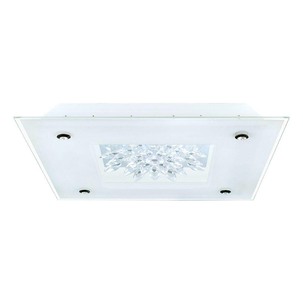 Benalua 2-Light White Integrated LED Ceiling Light
