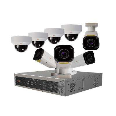 Ultra Plus HD 16-Channel 4TB NVR Surveillance System with Eight 4 Megapixel Cameras