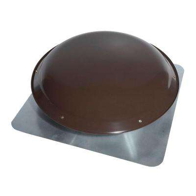1000 CFM Power Steel Roof Attic Ventilator in Dark Brown