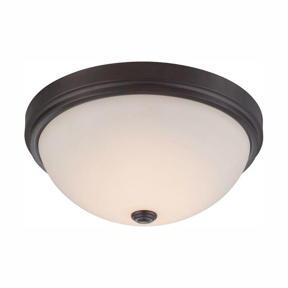 Designers Fountain Hopkins Oil Rubbed Bronze Interior LED Flush Mount was $52.88 now $21.15 (60.0% off)