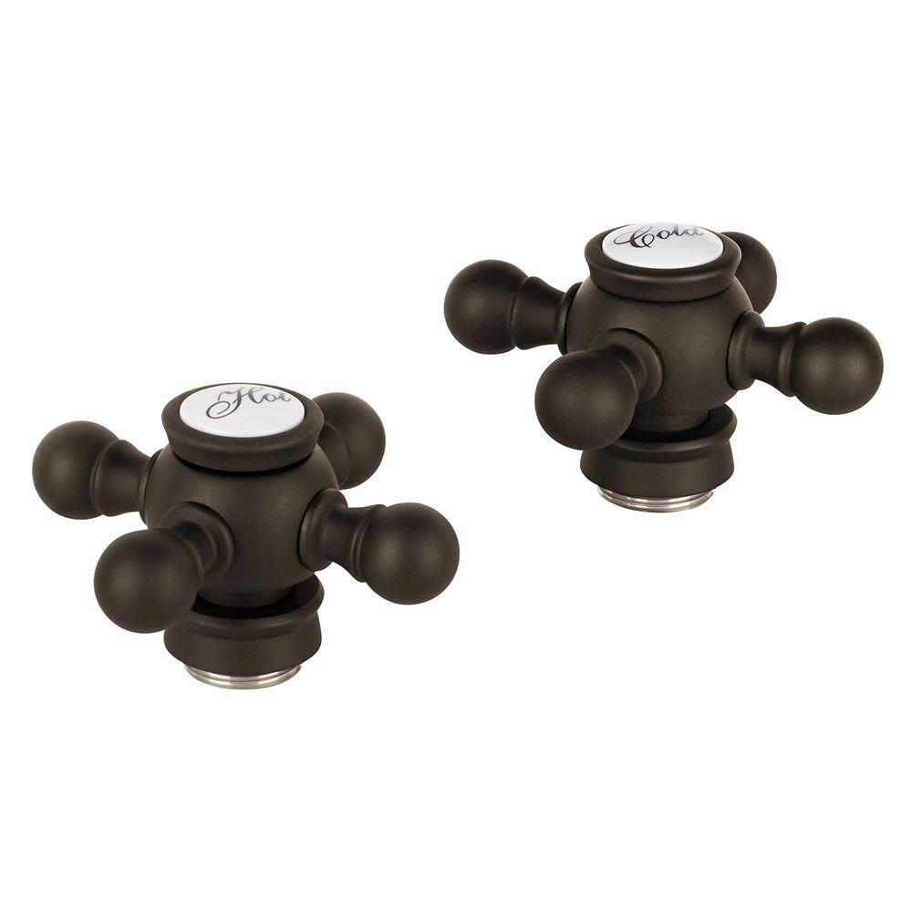 GROHE Geneva Cross Handles in Oil-Rubbed Bronze-18 733 ZB0 - The ...