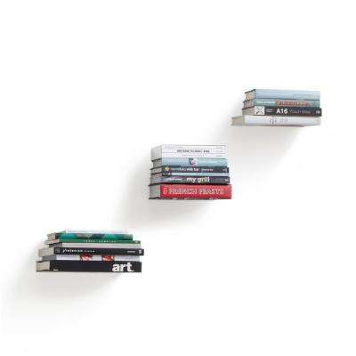 5.5 in. x 1.82 in. Silver Conceal 3-Small Shelves