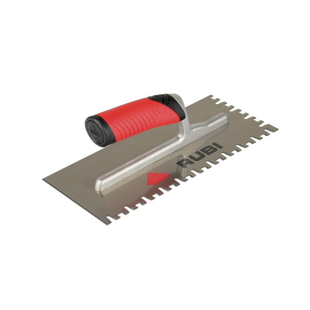 Notched Trowels Home Depot : Rubi in steel notched trowel the home depot
