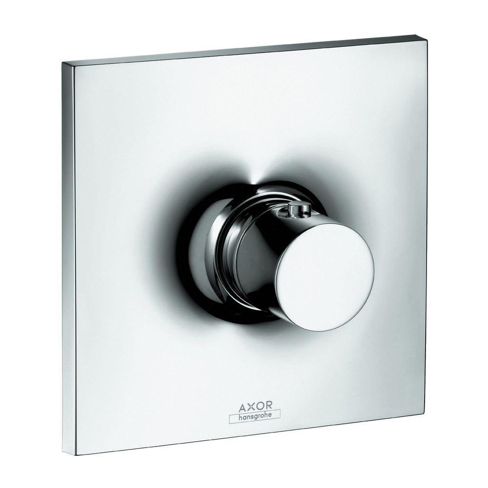 Hansgrohe Axor Massaud 1-Handle Thermostatic Valve Trim Kit in Chrome (Valve Not Included)