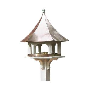 Good Directions Lazy Hill Farm Designs Carousel Birdhouse with Polished Copper Roof by Good Directions