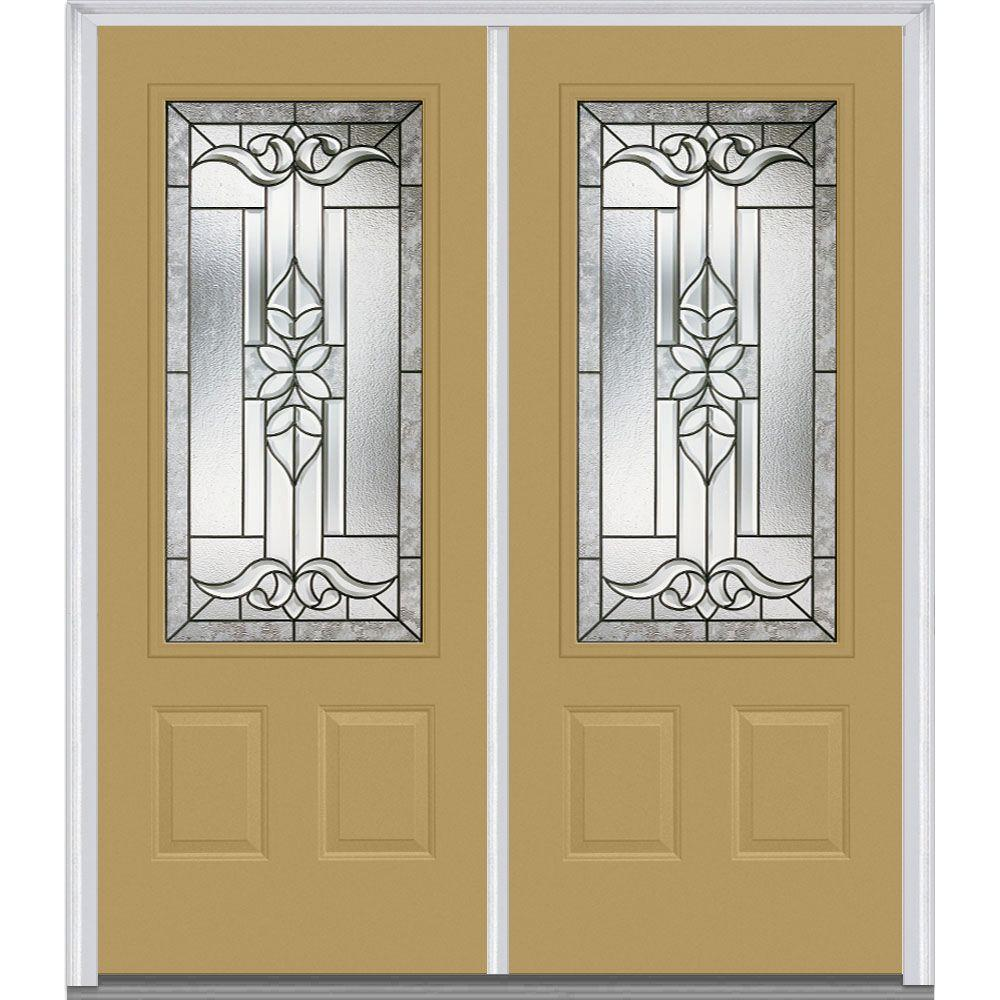 72 in. x 80 in. Cadence Left-Hand 3/4 Lite 2-Panel Classic