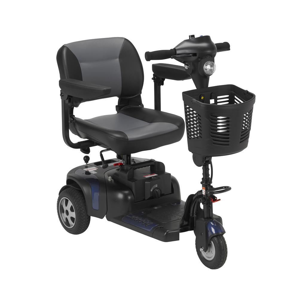 Drive Phoenix Heavy Duty Power Scooter 3-Wheel with 18 in...