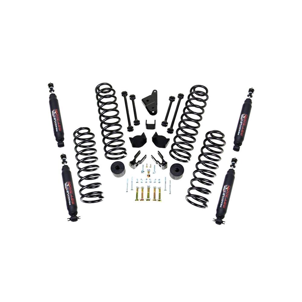 07-16 Jeep Wrangler JK 4.0in Sprg Kit w/SST 3000 Shocks