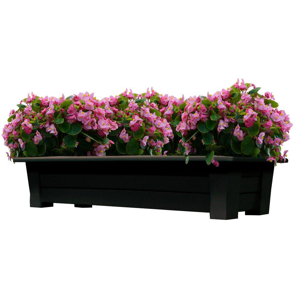 resin extra large plant pots planters the home depot. Black Bedroom Furniture Sets. Home Design Ideas
