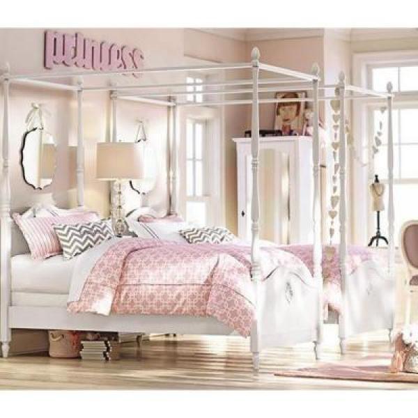 Internet #205019558. Carmela Kids Grigio Carmine Full Size Canopy Bed & Carmela Kids Grigio Carmine Full Size Canopy Bed-1651800270 - The ...