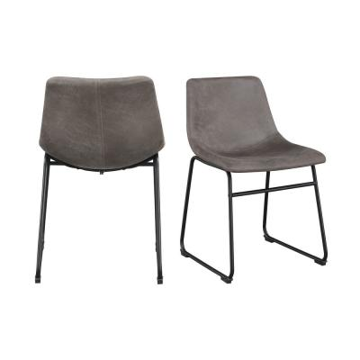 Collins 19 in. Counter Gray Bar Stool (Set of 2)
