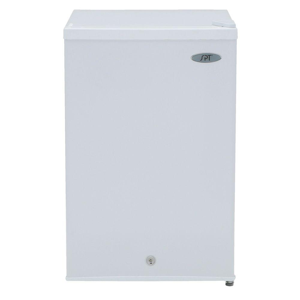 SPT 2.1 cu. ft. Upright Freezer in White