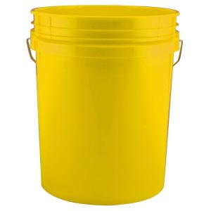 Leaktite 5-gal. Yellow Bucket (120-Pack) by Leaktite