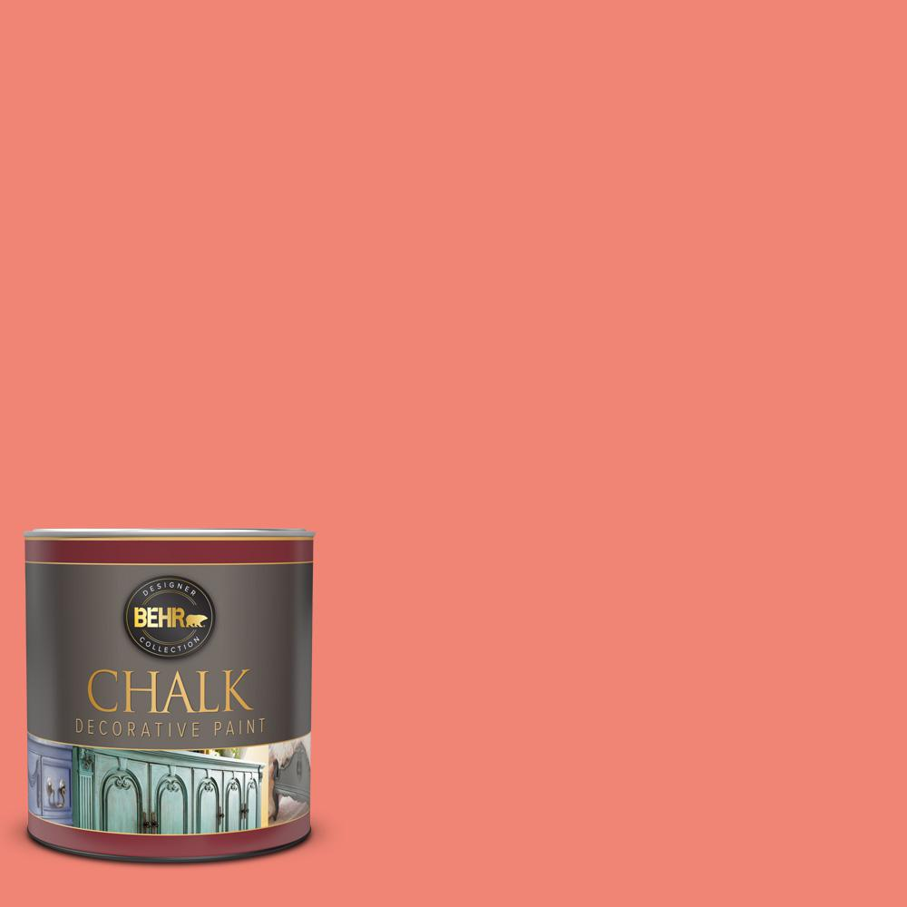 BEHR 1-qt. #BCP03 Salmon Coral Interior Chalk Finish Paint