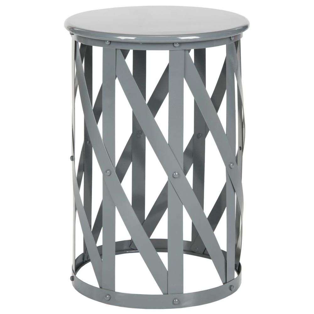 Safavieh Bertram Grey End Table