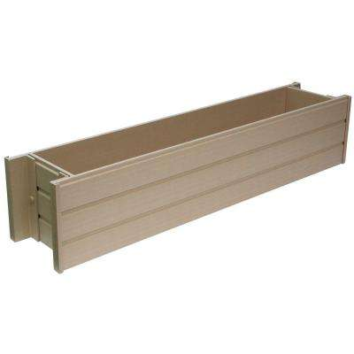 ecoChoice 30.3 in. x 7.5 in. Resin Window Box