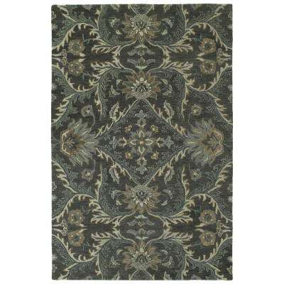 Amaranta Charcoal 5 ft. x 8 ft. Area Rug