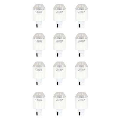 20-Watt Equivalent Warm White T5 LED Wedge Base 12-Volt Landscape Gardening Light Bulb (12-Pack)