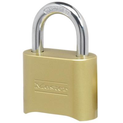 175D 2 in. W Zinc Set Your Own Combination Padlock with 1 in. L Shackle