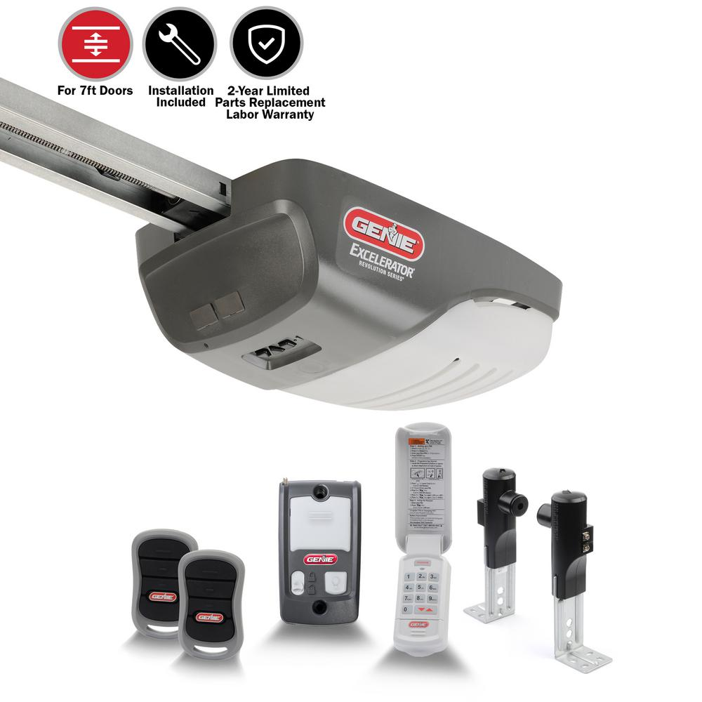Genie Excelerator 1 Hp Garage Door Opener With