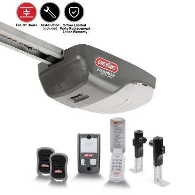 Excelerator 1 HP Garage Door Opener with Installation Bundle (7 ft.)