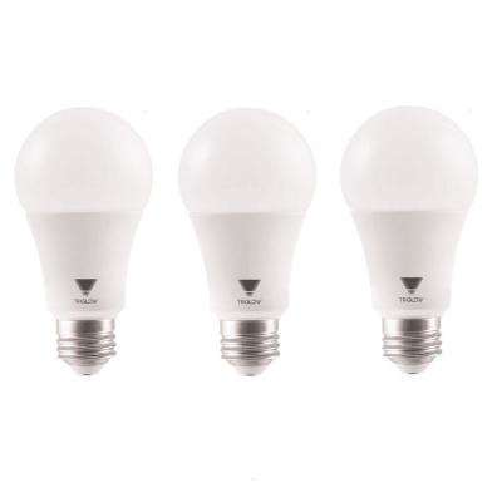 100 Watt Equivalent A19 1500 Lumens UL Listed LED Light Bulbs Daylight (3-Pack)