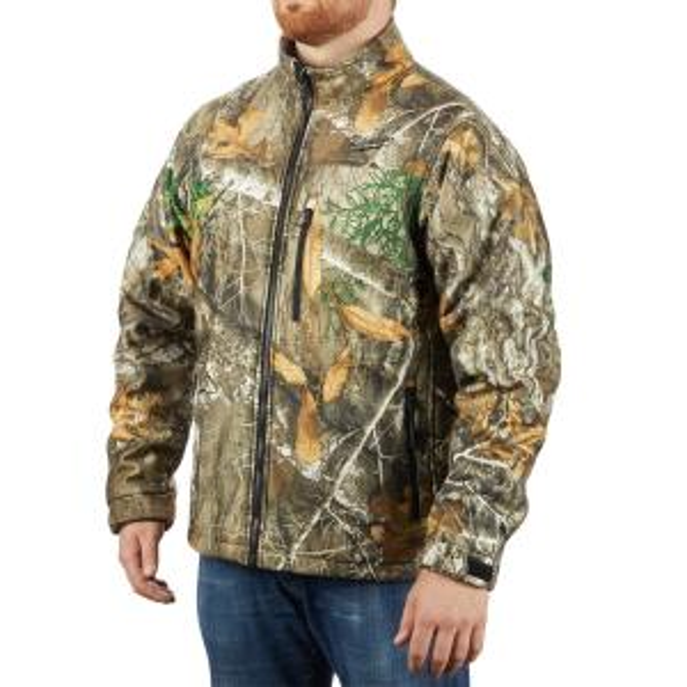 e69a7c0025765 Milwaukee Men's Medium M12 12-Volt Lithium-Ion Cordless Realtree Camo  Heated Jacket (