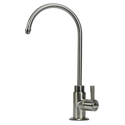Brushed Nickel Faucet Lead Free Non-Air Gap Single-Handle Reverse Osmosis Faucet with Ceramic Disc