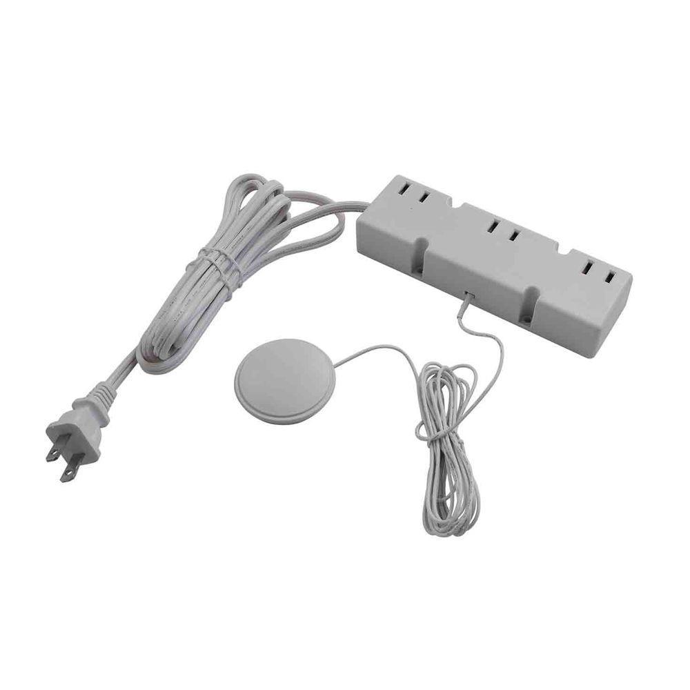 200-Watt 120-Volt 3-Level White Touch Dimmer