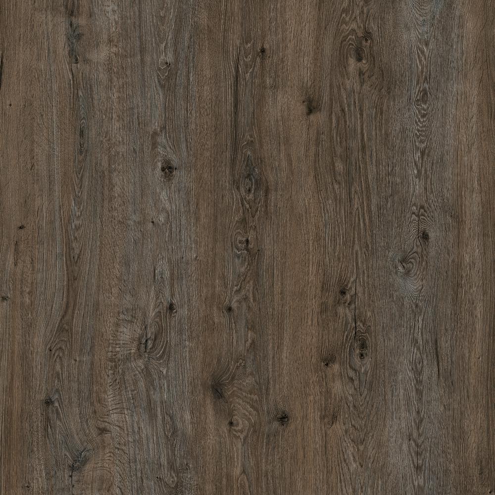 Botanicals Limed Oak Brown 7.1 in. W x 48 in. L Luxury Click-Lock Vinyl Plank Flooring (28.42 sq. ft./case)