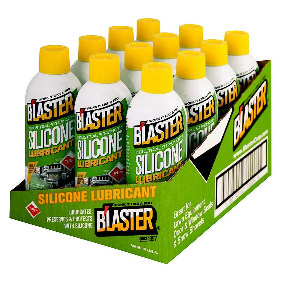 Blaster 11 oz. Industrial Strength Silicone Lubricant (Case of 12)