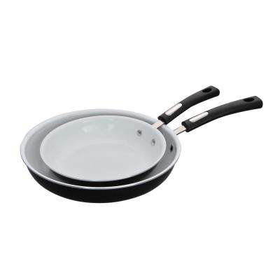 2-Piece Aluminum Fry Pan Set
