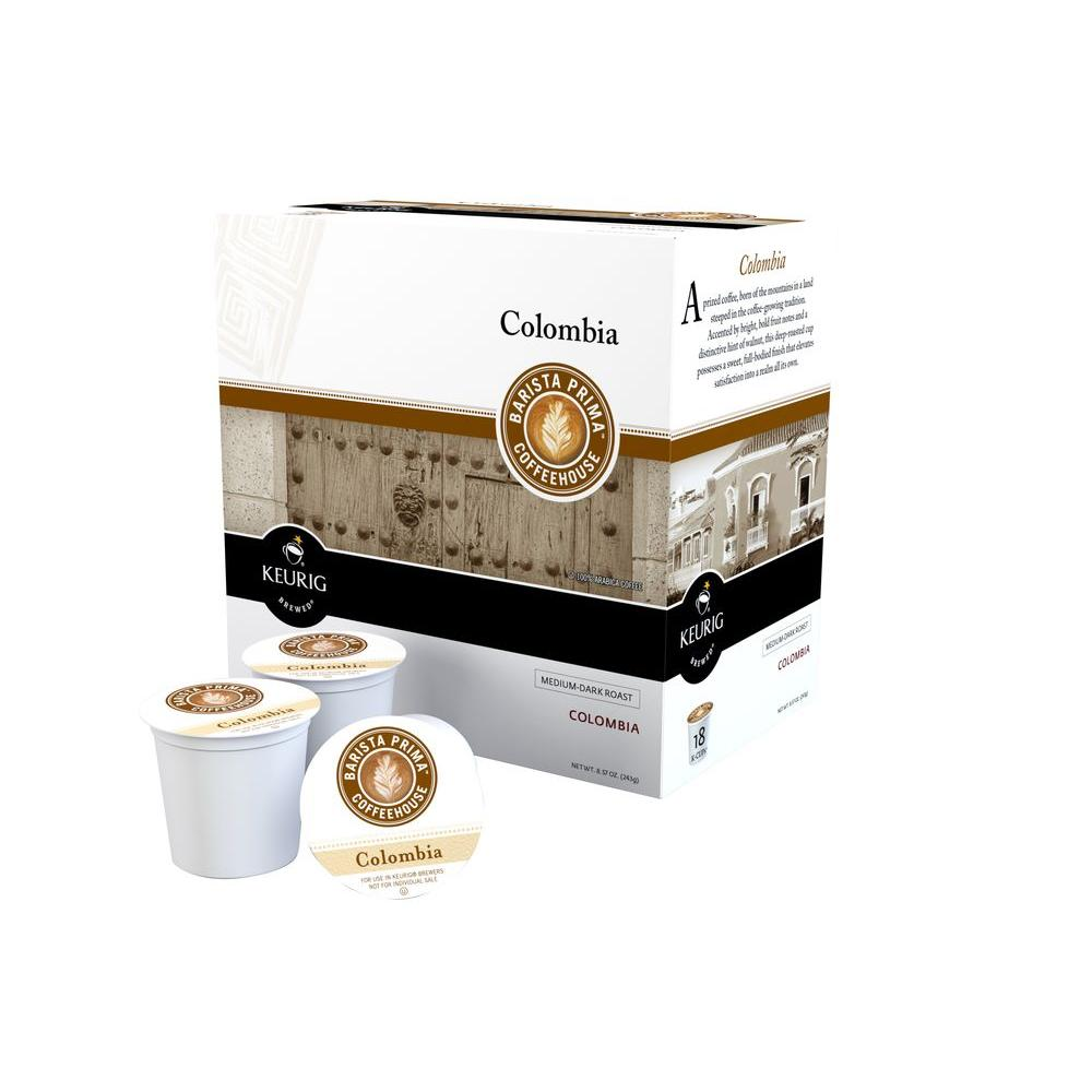 null Colombia Coffee (108 K-Cups per Case)