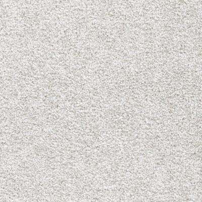 Carpet Sample - Tides Edge - Color Stove Pipe Textured 8 in. x 8 in.