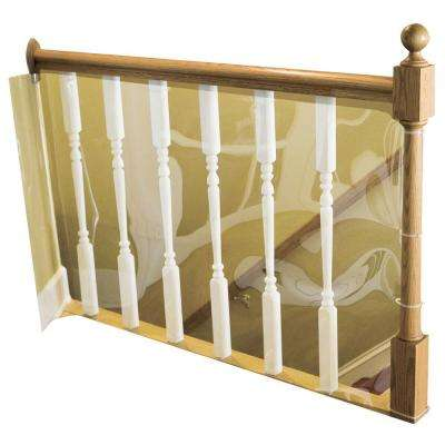 15 ft. Roll Child Safety Indoor Banister Guard