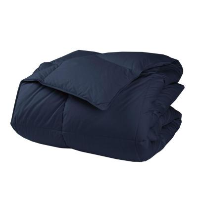 LaCrosse LoftAIRE Light Warmth Navy Blue Twin Down Alternative Comforter