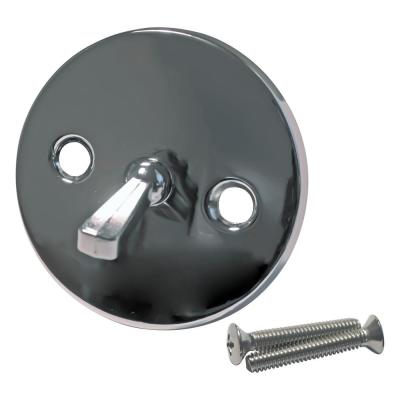 960-041A Waste and Overflow Trip Lever Plate in Polished Chrome