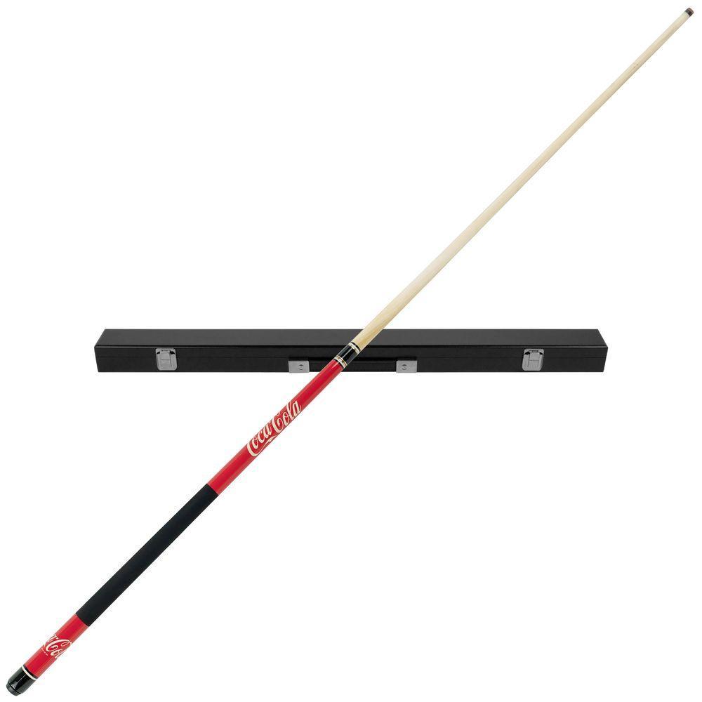 Trademark Games Coca Cola Billiard Pool Cue Stick With