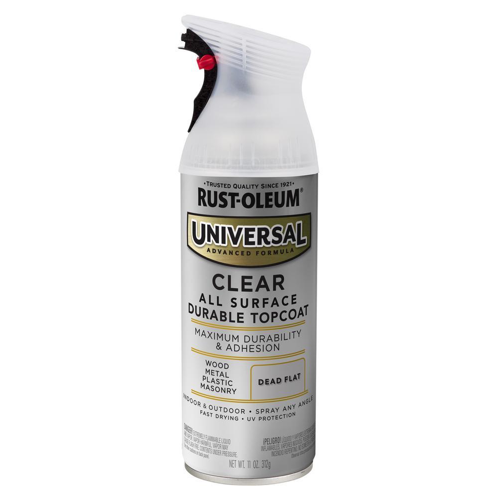 11 oz. All Surface Dead Flat Clear Topcoat Spray Paint