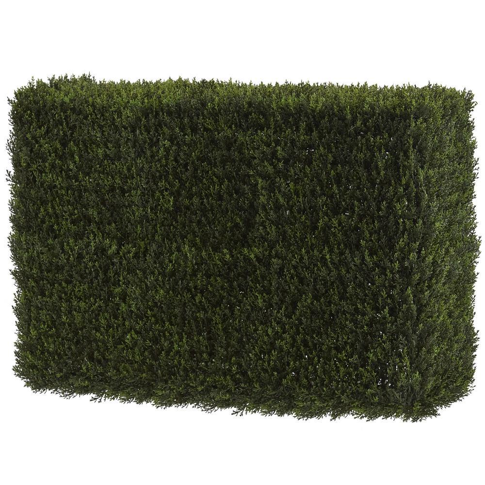 Artificial Decorative Cedar Hedge (Indoor/Outdoor)