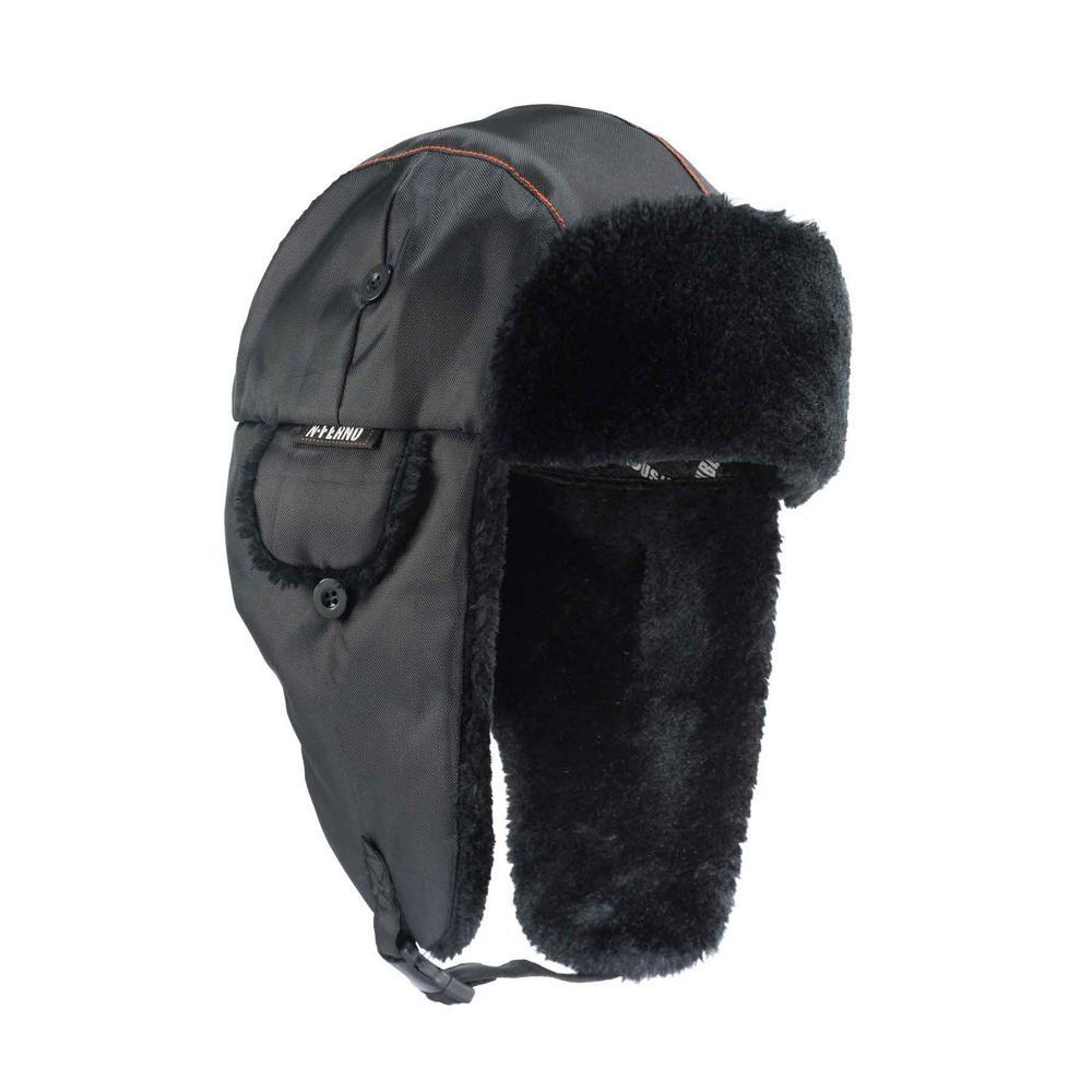 6802 L/XL Black Classic Trapper Hat