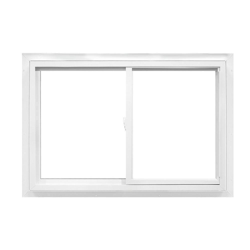 36 in. x 35 in. 2392 Series Reversible Sliding Vinyl Window