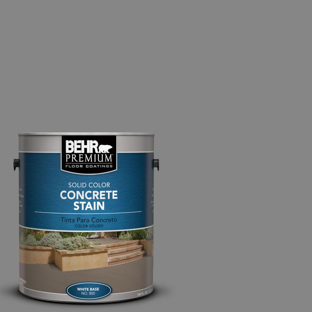 1 gal. #PFC-63 Slate Gray Solid Color Interior/Exterior Concrete Stain