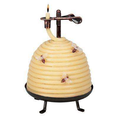 70 Hour Beehive Coil Candle