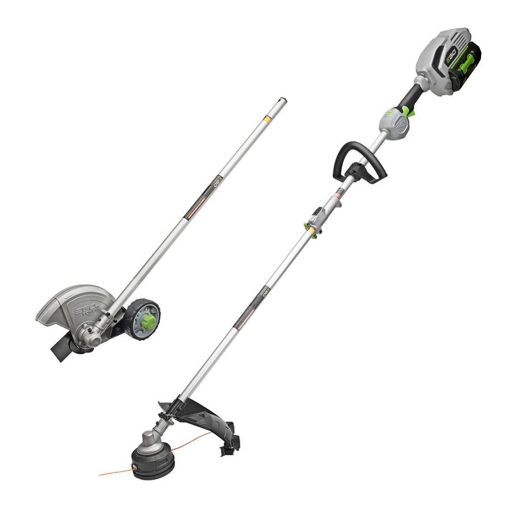 POWER+15in.56V Lithium ion Cordless String Trimmer+Edger Combo Kit