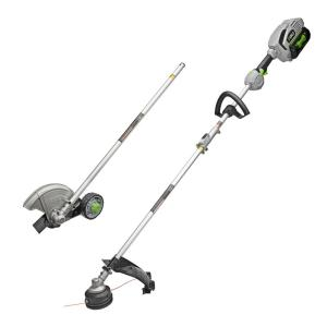 EGO 15 inch String Trimmer and Edger Combo Kit with 5.0Ah Battery and Charger for EGO Power Head System by EGO